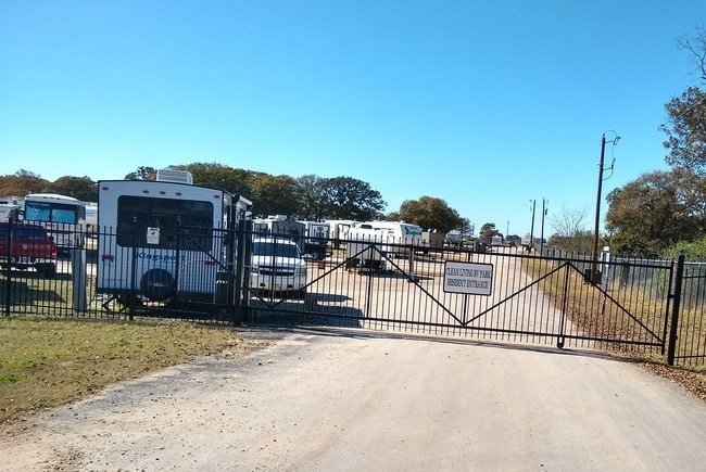 RV Park Gated Entrance