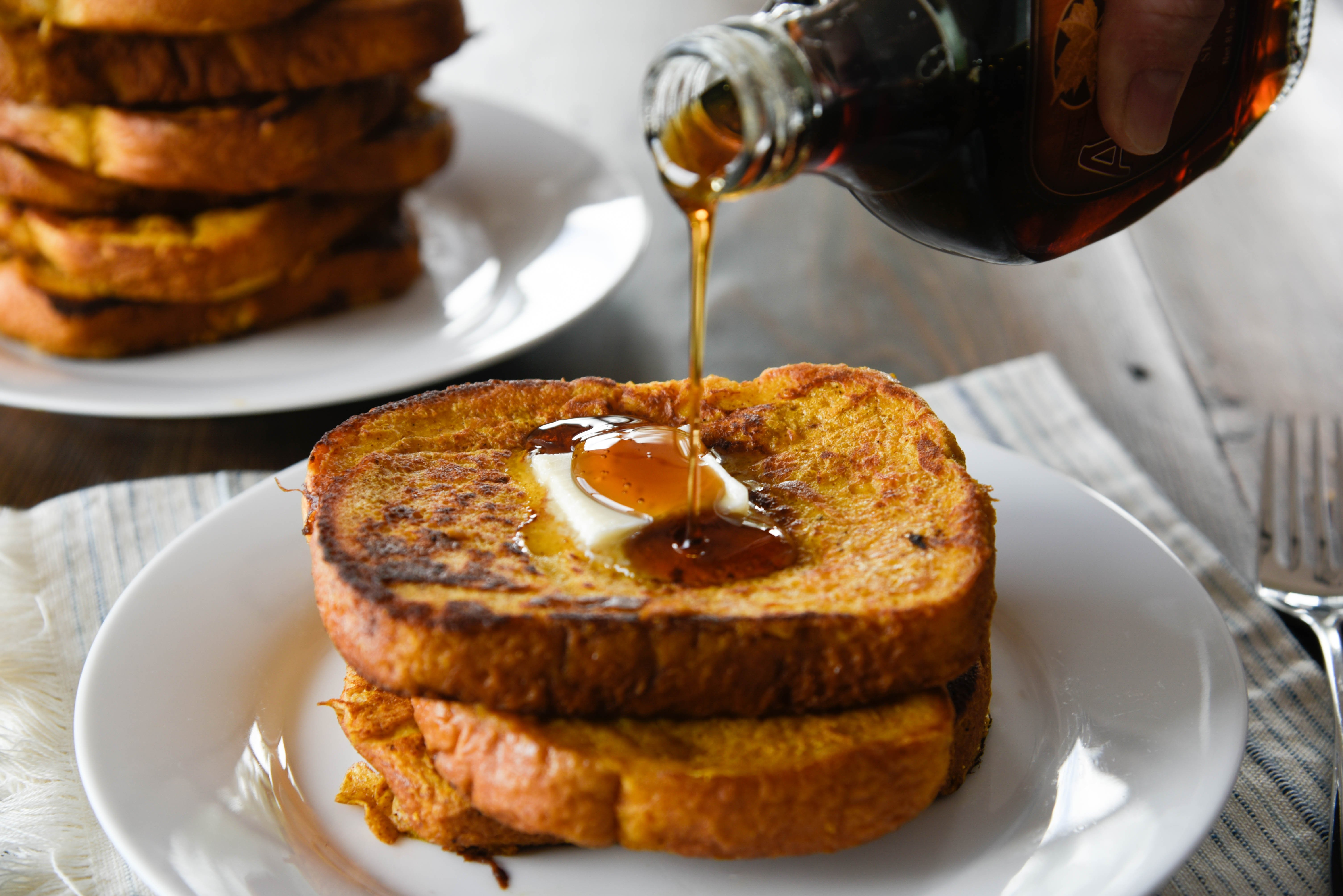 Fall for Pumpkin French Toast for Breakfast