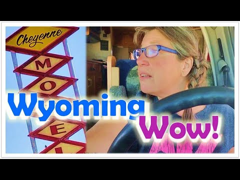 Full Time RV Living//Gorgeous Free Camping near Cheyenne Wyoming