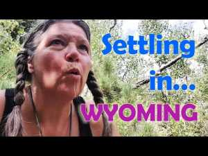 Solo Female RV Living//Settling in in Wyoming Camp at Vedauwoo