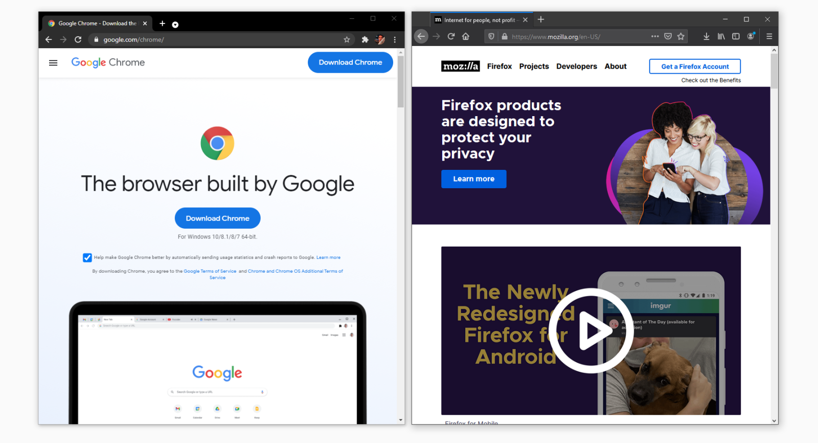 Our Favorite Updates to Chrome 87 and Firefox 83