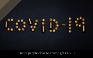 3 more people close to Trump get COVID