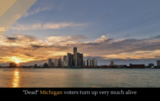 """Dead"" Michigan voters turn up very much alive"