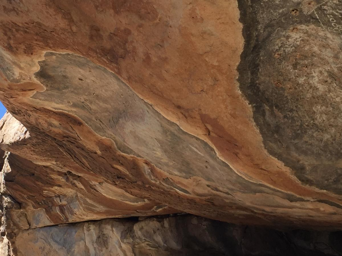 Find 12,000-year-old pictographs at this Texas campground