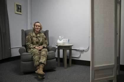 A shift in the culture: Air Force making life easier for breastfeeding moms