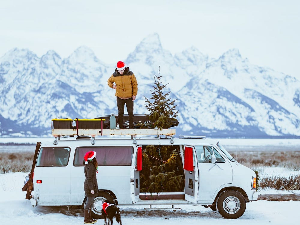 With limited space, these RV and van dwellers share how they tackle the challenge of decorating for the holidays
