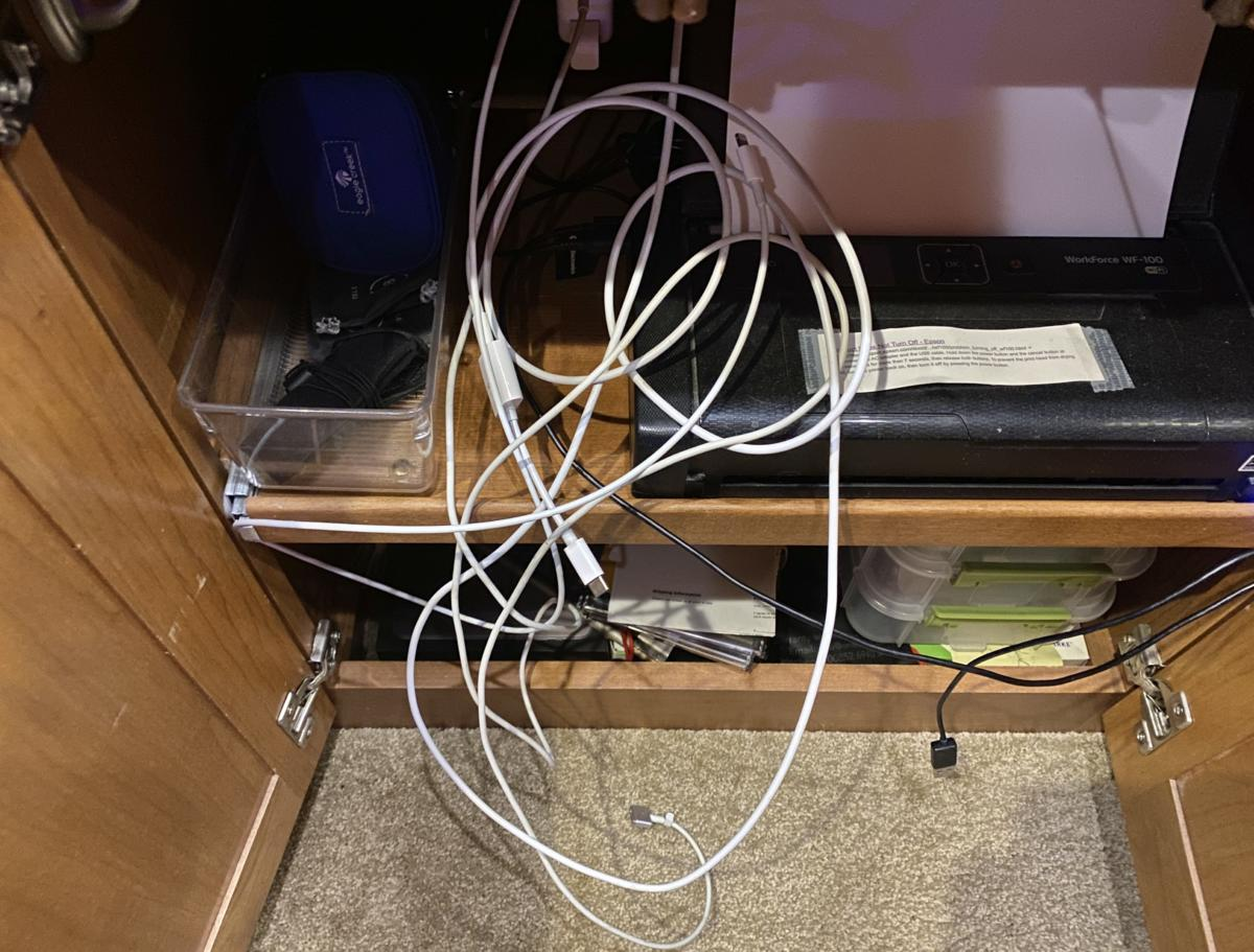 Cables in a tangle? Use this quick tip to tame them