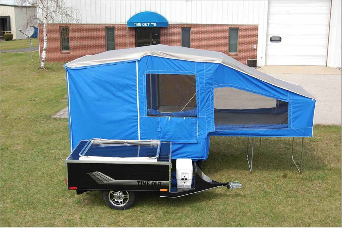 RV Review: Time Out Deluxe Folding Trailer