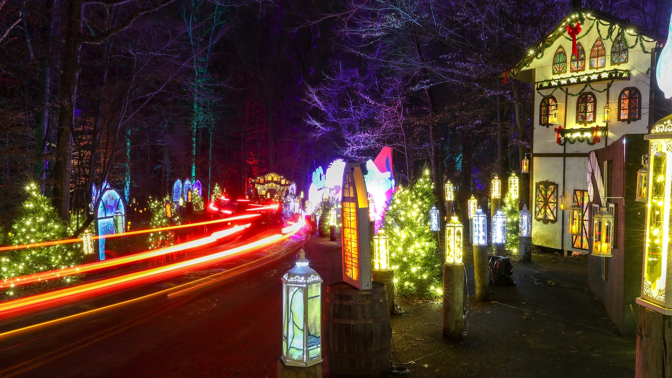 Stay in your pajamas and enjoy the Winter Woods Spectacular