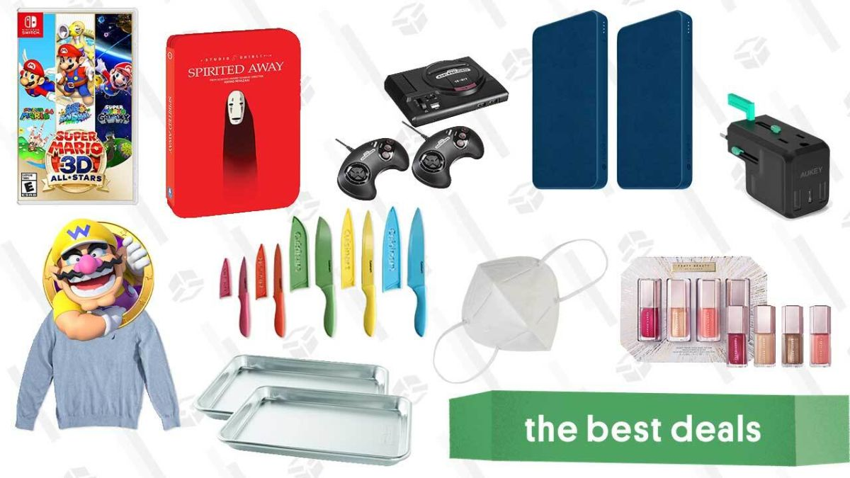 Tuesday's Best Deals: Extra 20% off Sephora Sale Items, Studio Ghibli Blu-rays, Cuisinart Knives, Nautica Sweaters, KN95 Face Masks, and More