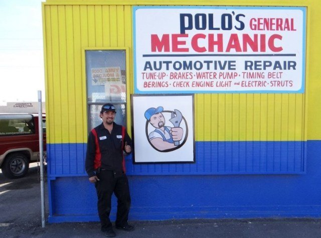 The Bronco Visits My Mexican Mechanic…