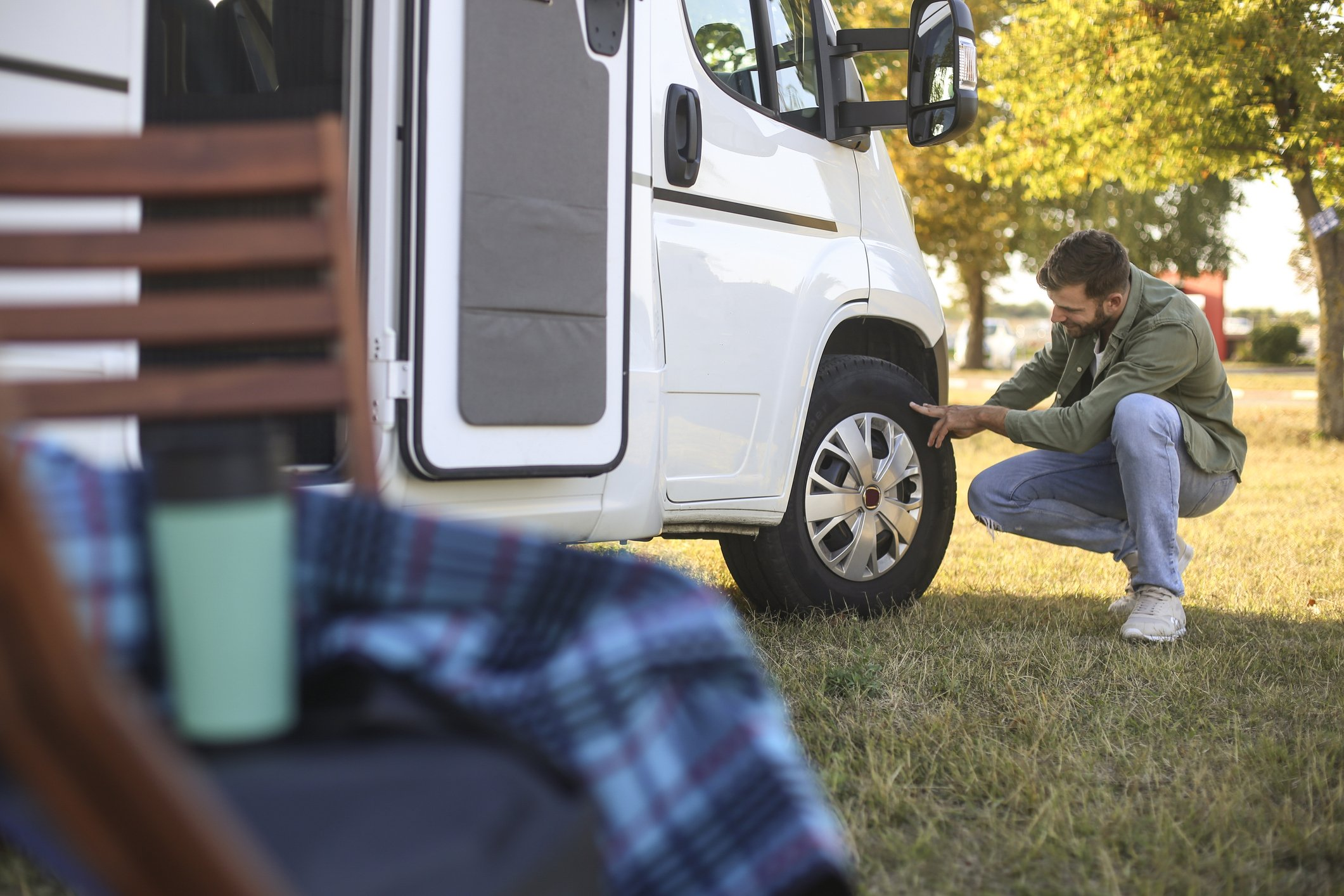 How to Find the Age of Your RV Camper Tires