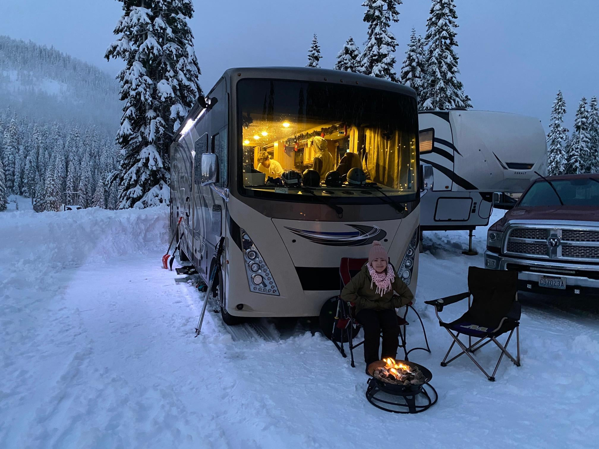 First weekend of winter camping!