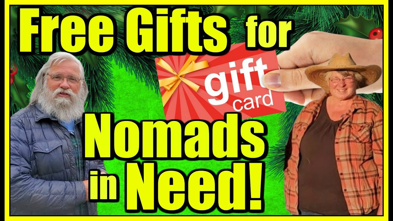 Big Announcements: HOWA Has Xmas Gift Cards for Nomads in Need & Camp with Bob and Suanne