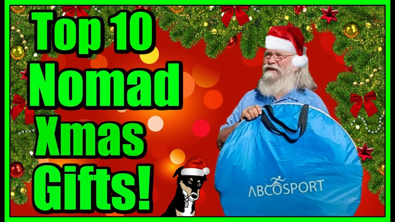 10 Best Christmas Gifts for Nomads! What to get your favorite nomads for Xmas!