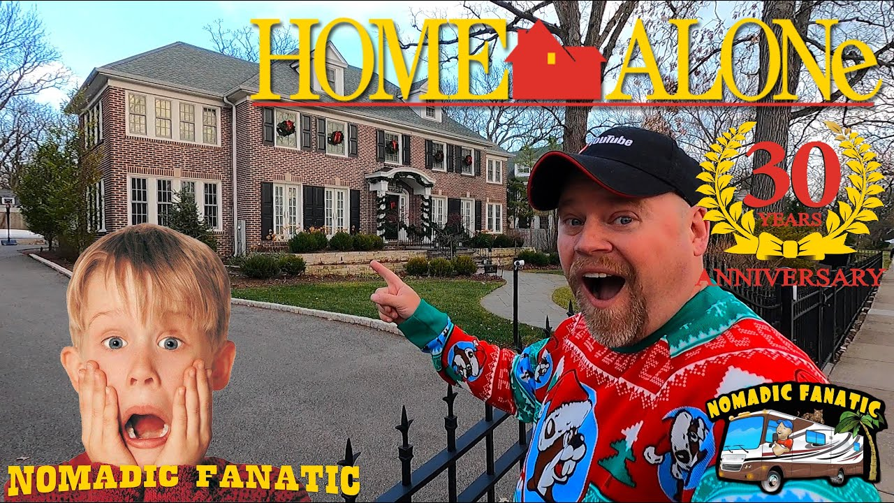 Home Alone ~ 30 Years Later... We Revisit Filming Locations