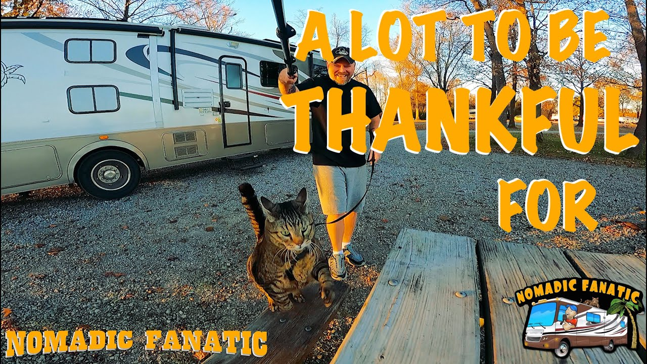 Happy Thanksgiving! Jax & I Camping @ Nature Preserve!!!