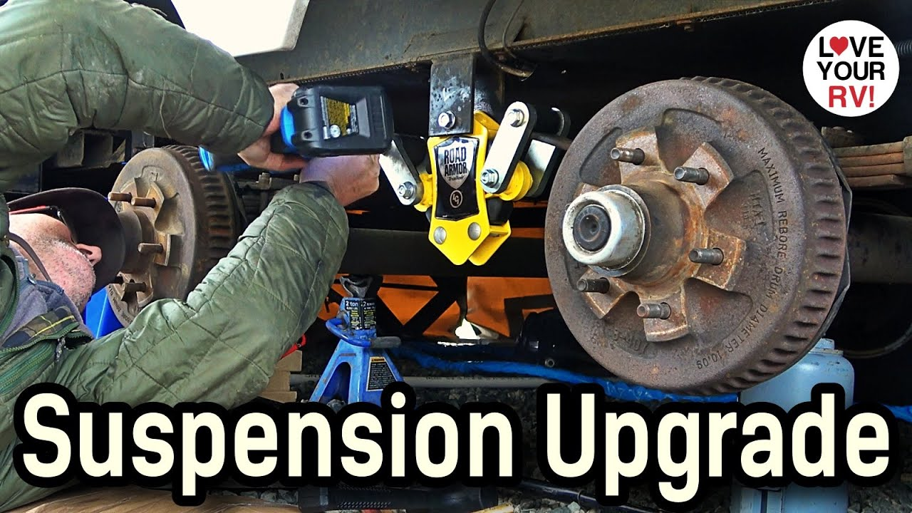 Big Suspension Upgrades - Installing LCI Road Armor EQ, Wet Bolts, Bushings & Shackles