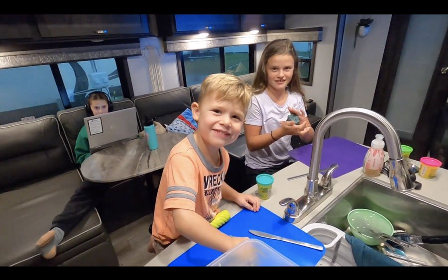 As COVID-19 surge hit, this Meridian family hit the road for a year-long RV adventure
