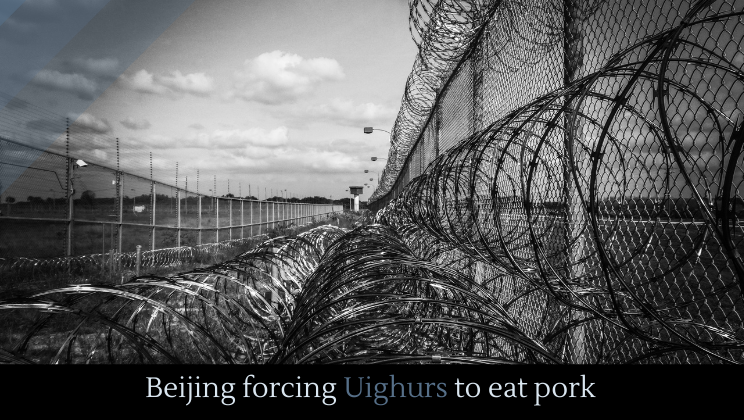 Beijing forcing Uighurs to eat pork