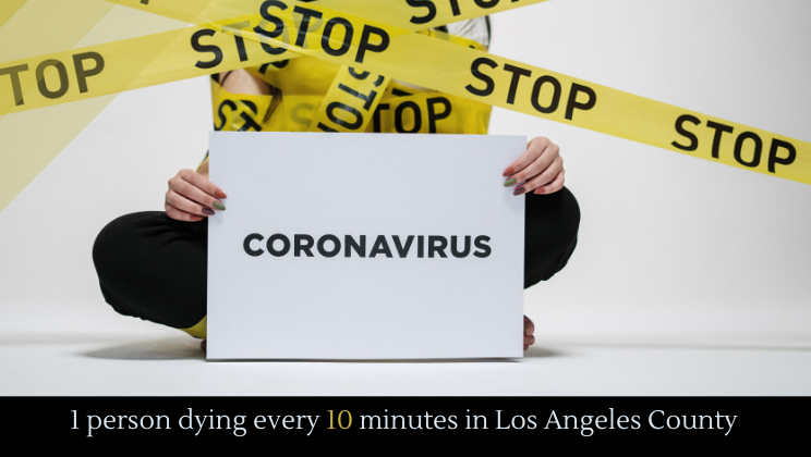 1 person dying every 10 minutes in Los Angeles County