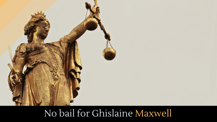 No bail for Ghislaine Maxwell