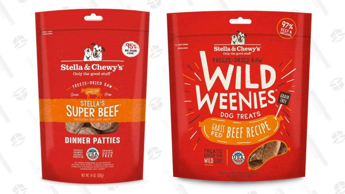 Give Your Pup a Real Treat and Save 25% on Stella & Chewy's Freeze-Dried Goodies