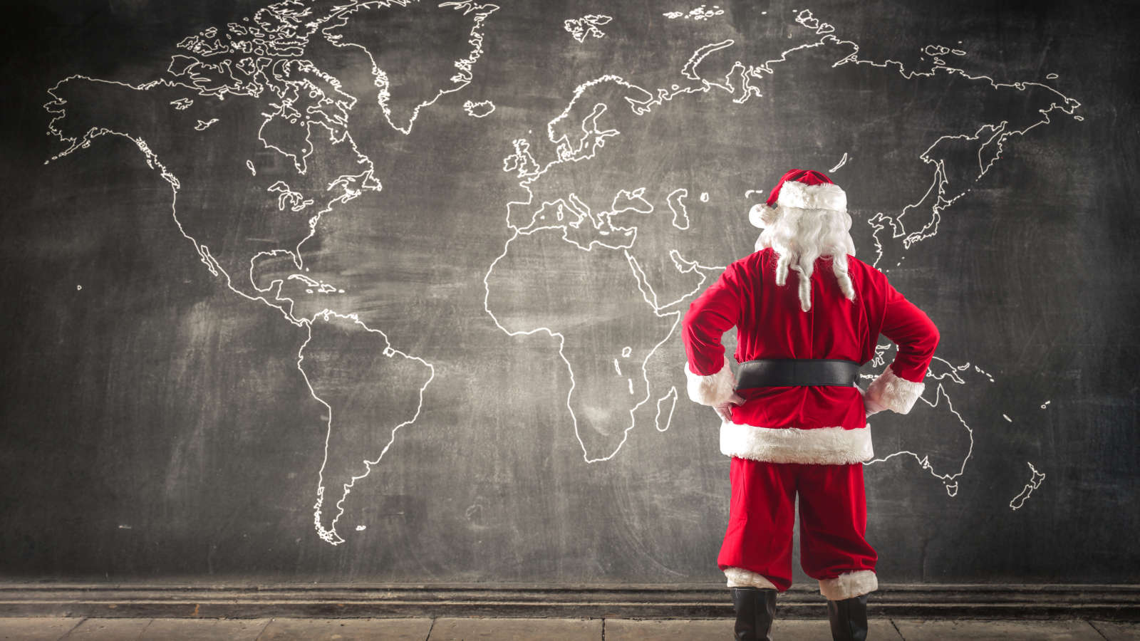 How to Track Santa's Commute From the North Pole