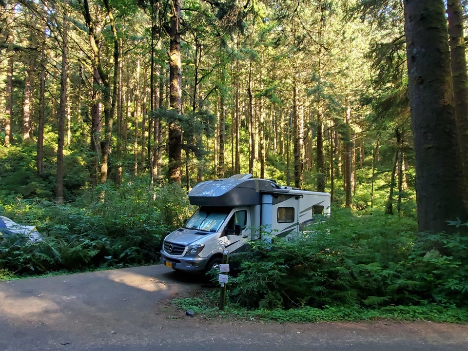 Enjoyed a lovely campsite and wonderful weather just a couple weeks ago on the Oregon coast.
