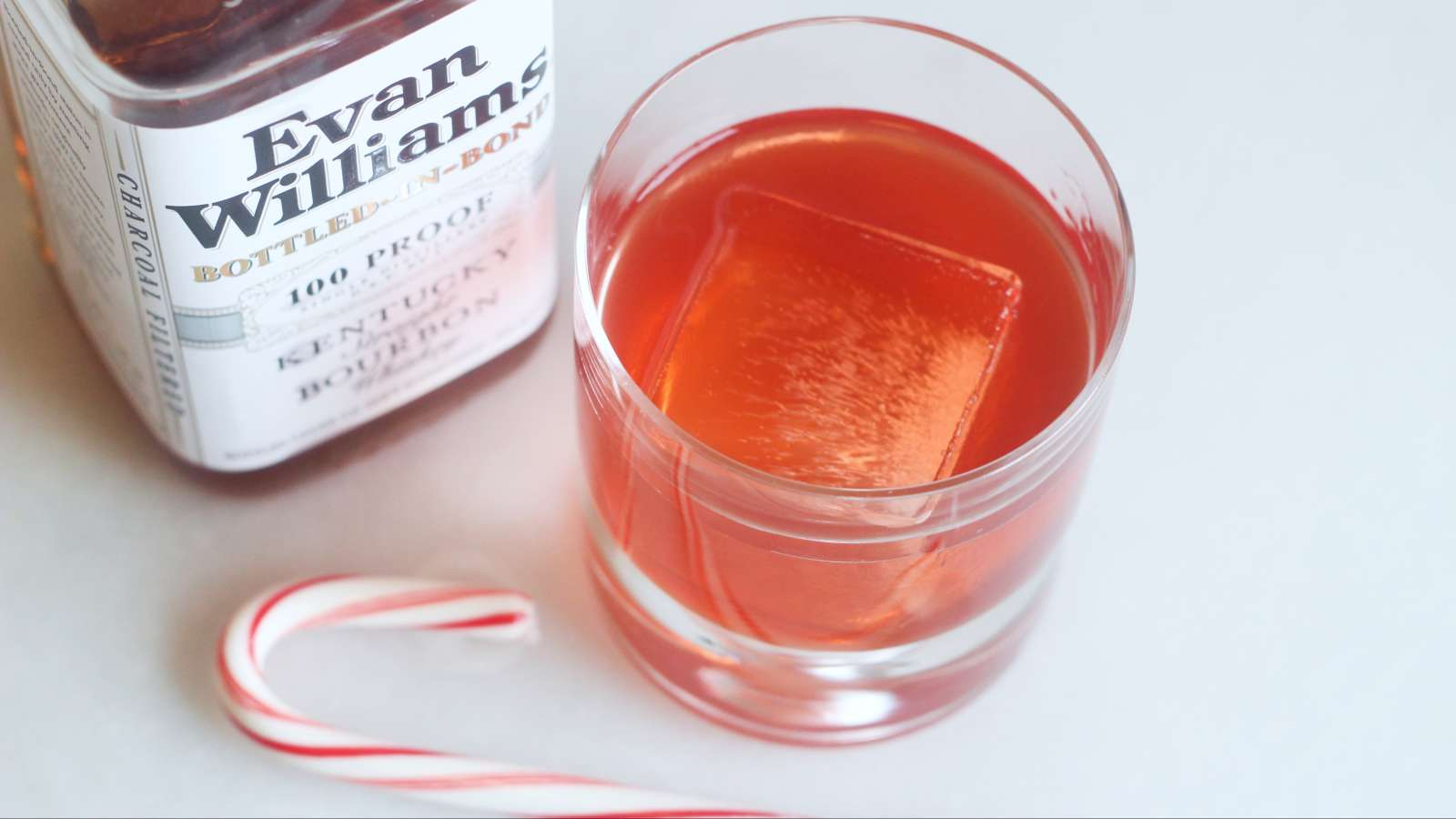 Put Candy Cane Syrup in Your Bourbon