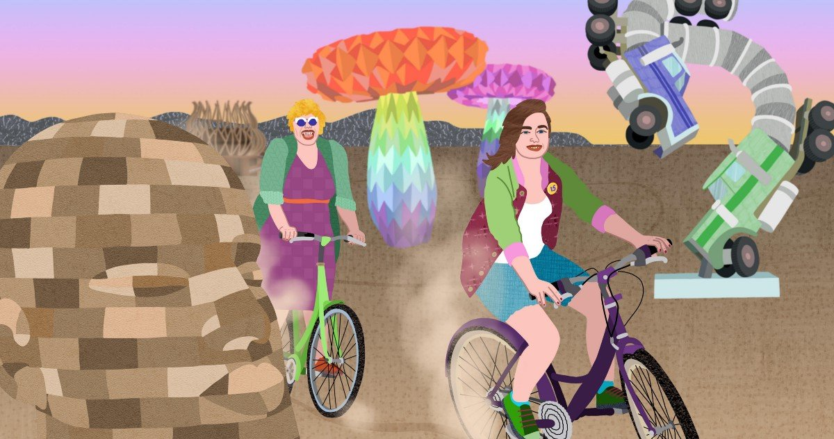 What I Learned Going to Burning Man With My Mom at Age 15