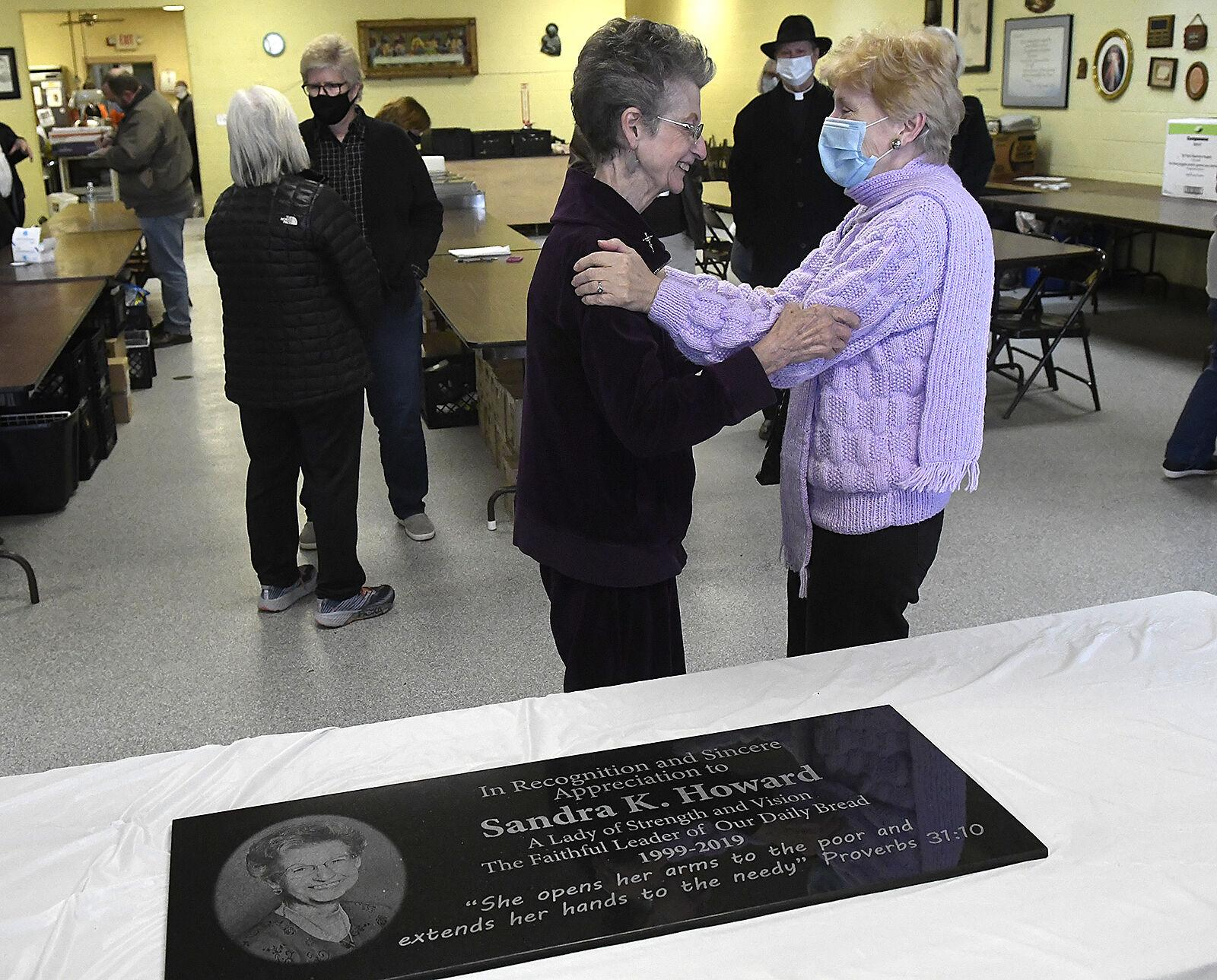 Longtime director honored at Our Daily Bread