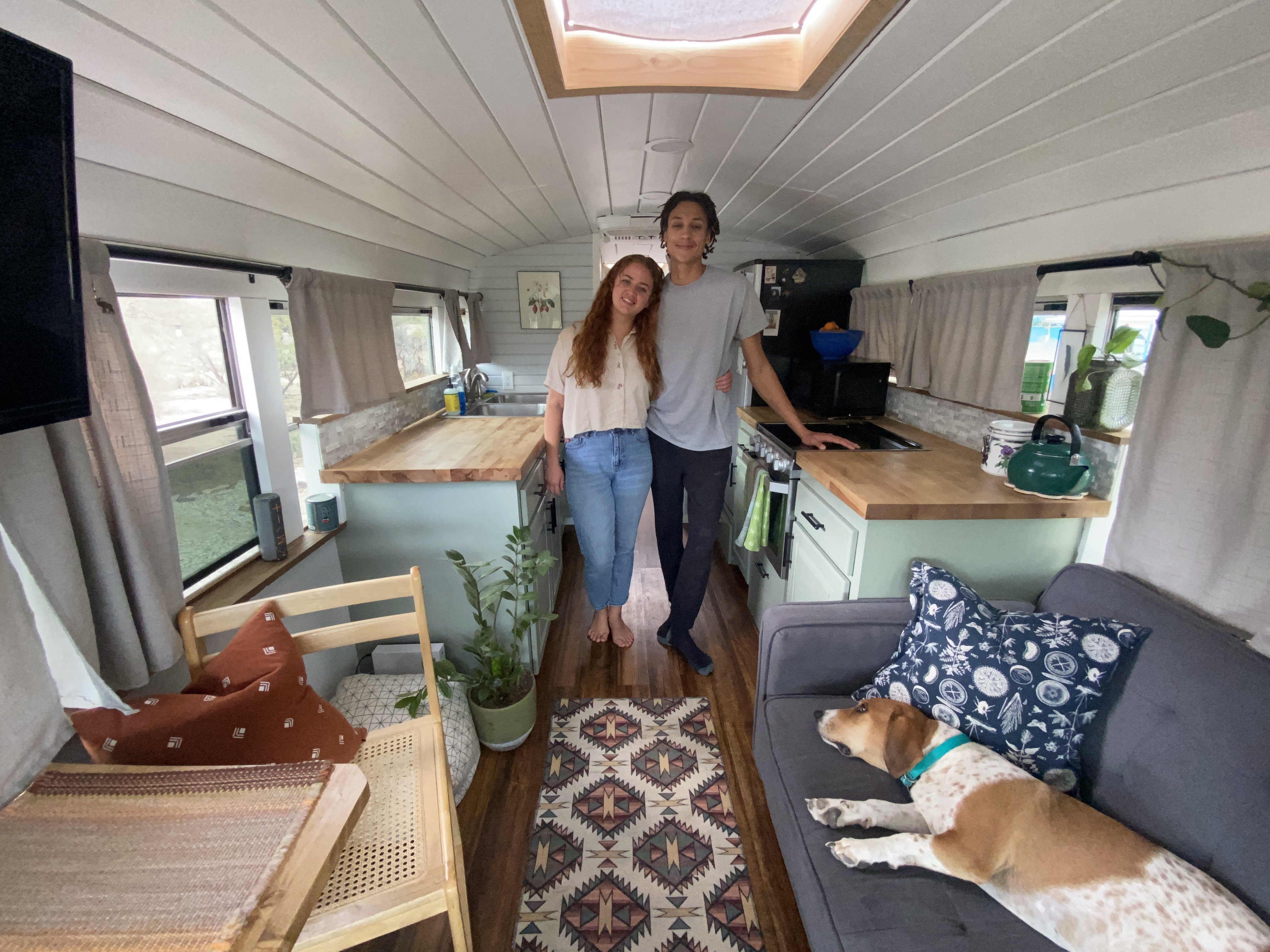 Camping in a School Bus, This RV Renovation Pushes the Limits