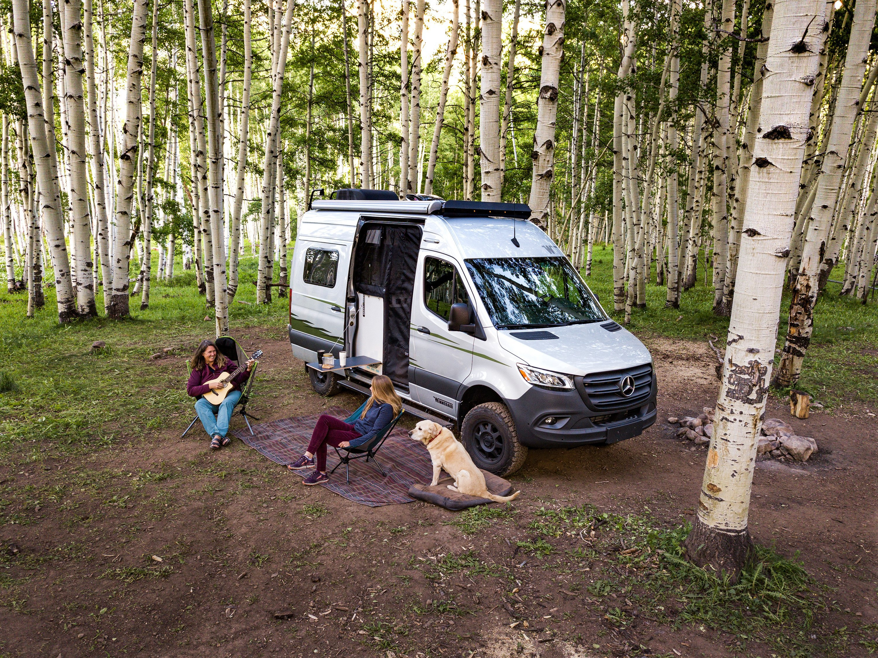 A Mercedes for Camping: The Winnebago Revel RV