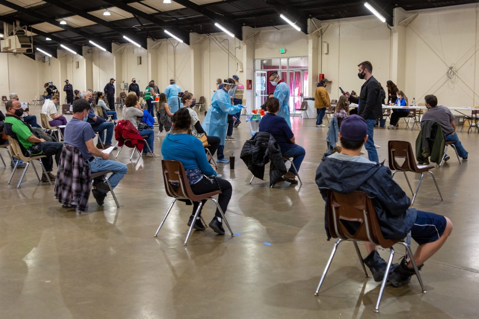 Redwood Empire Fairground hosts vaccination events