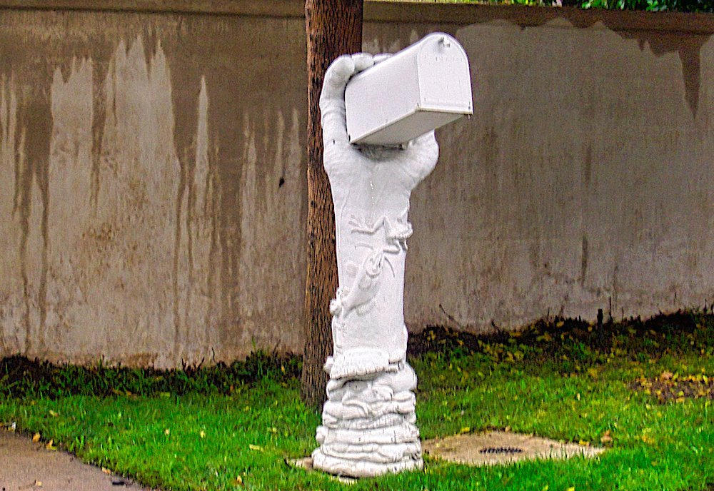 More wacky, creative mailboxes along the road