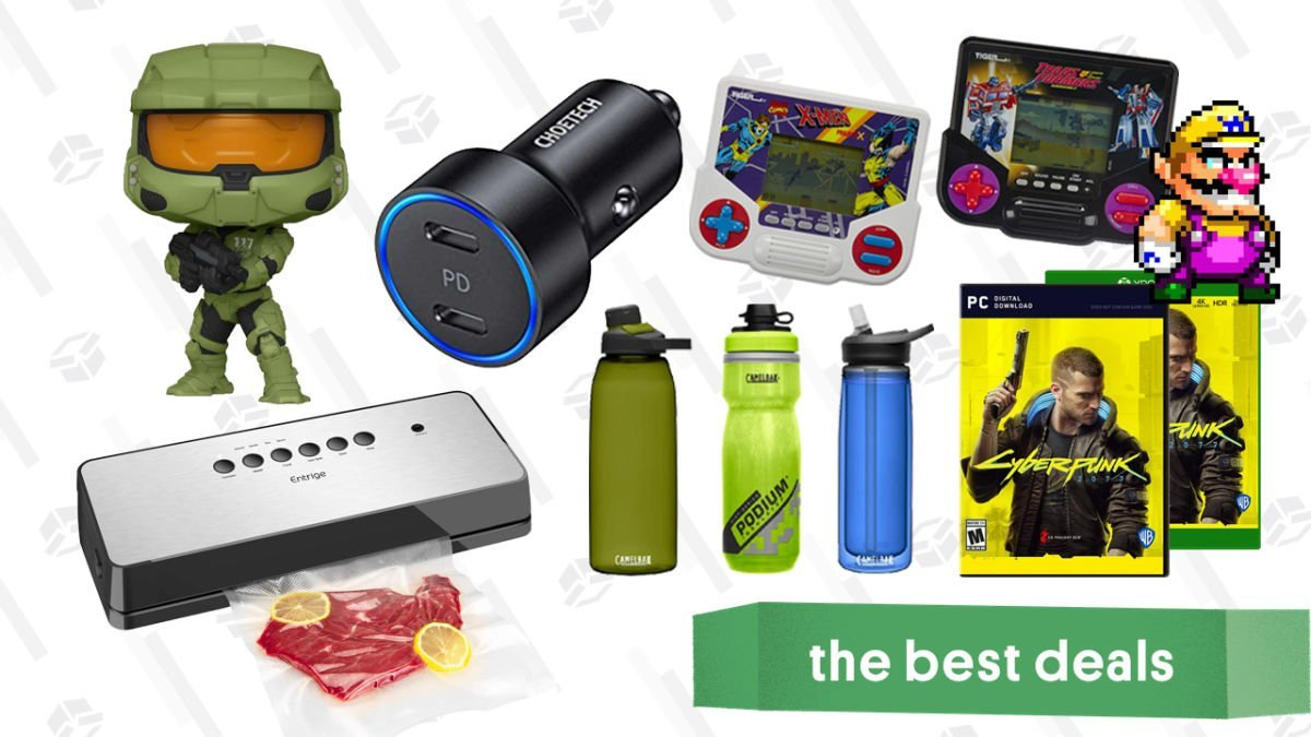 Friday's Best Deals: CamelBak Water Bottles, Cyberpunk 2077, Funko Pops, Disney Store Sale, AirPods Pro, Entrige Vacuum Sealer, Tiger Electronics Games, and More