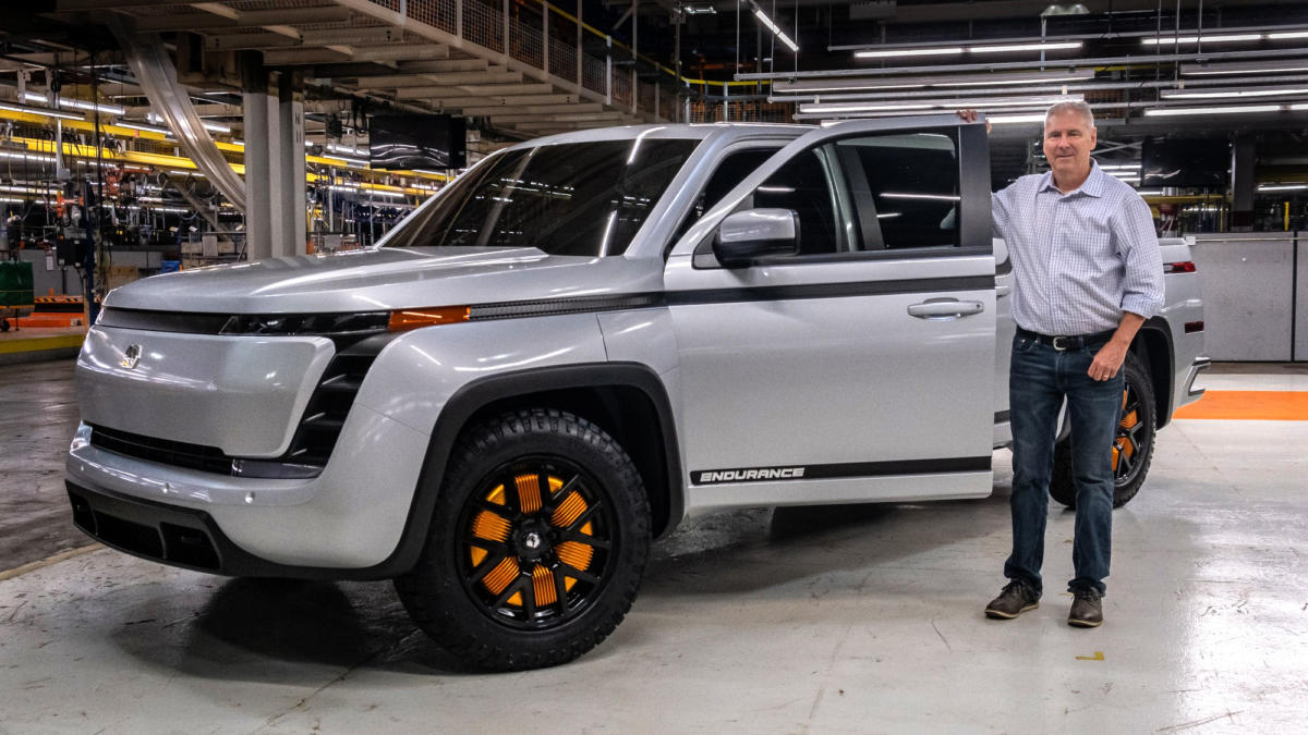 Do you want Endurance, the electric pickup truck?