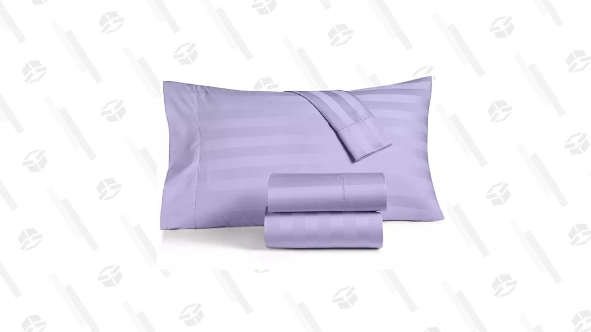 Save 50% on Charter Club's Sheet Set in Macy's Flash Sale