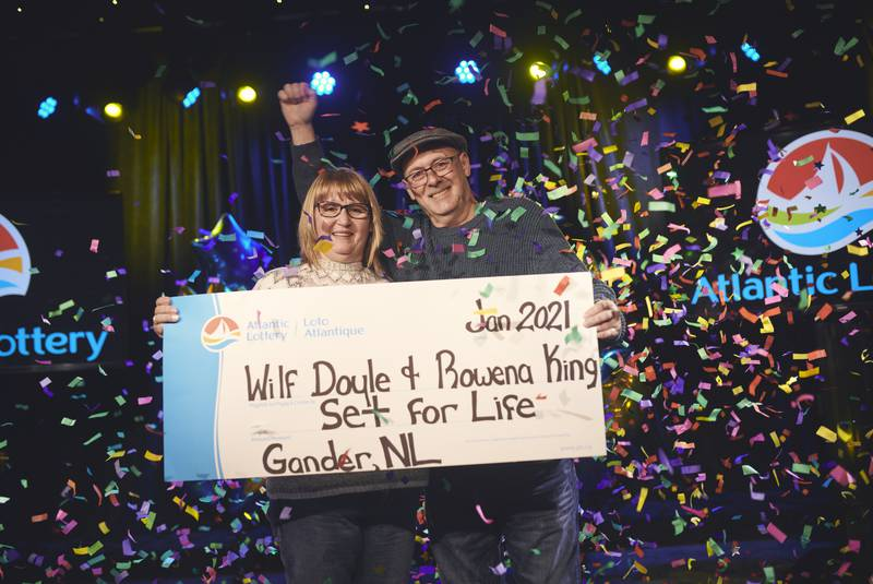 Gander couple keeps things neat, comes away with Set For Life grand prize
