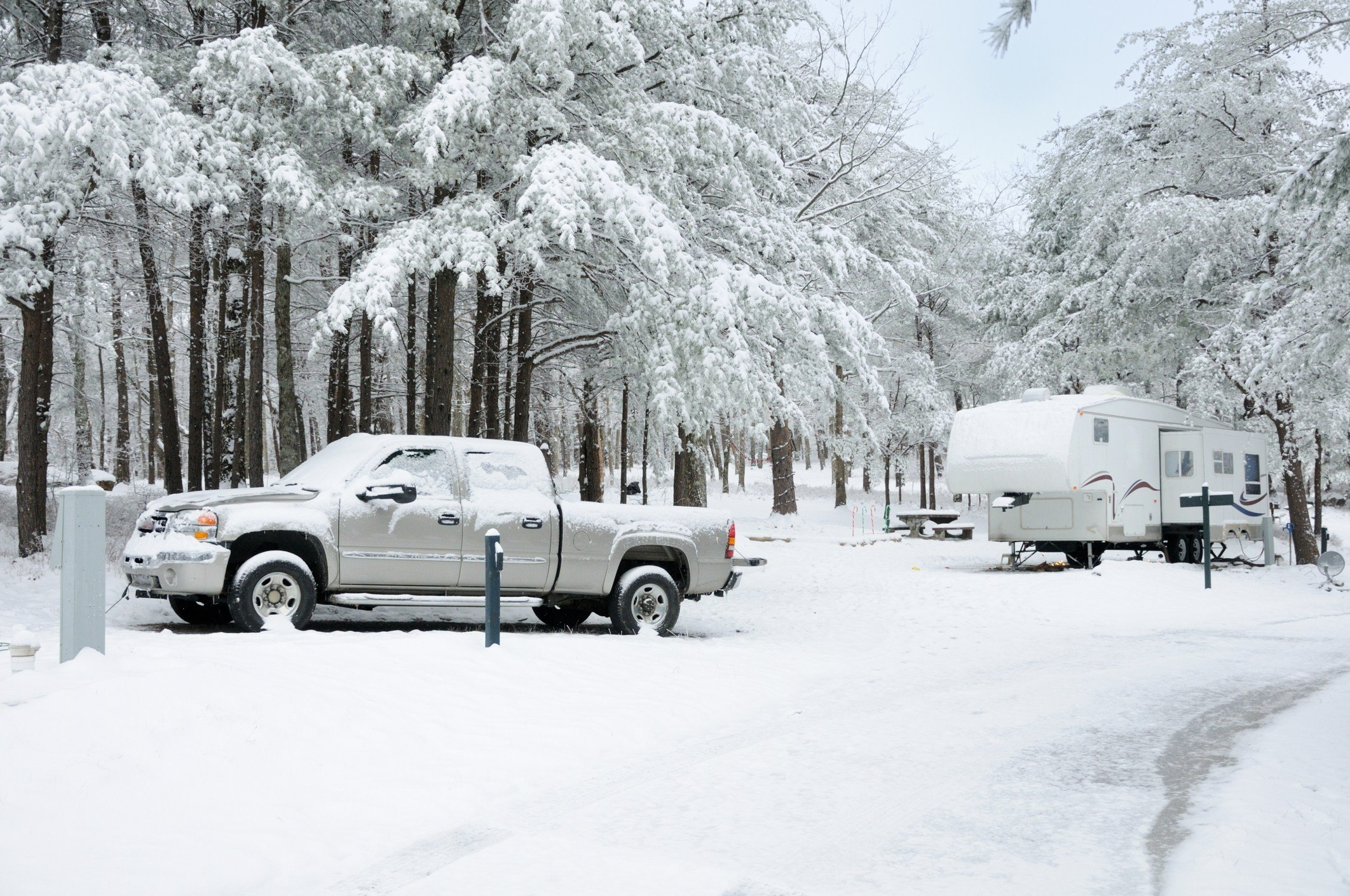 5 Ways to Heat Your RV This Winter