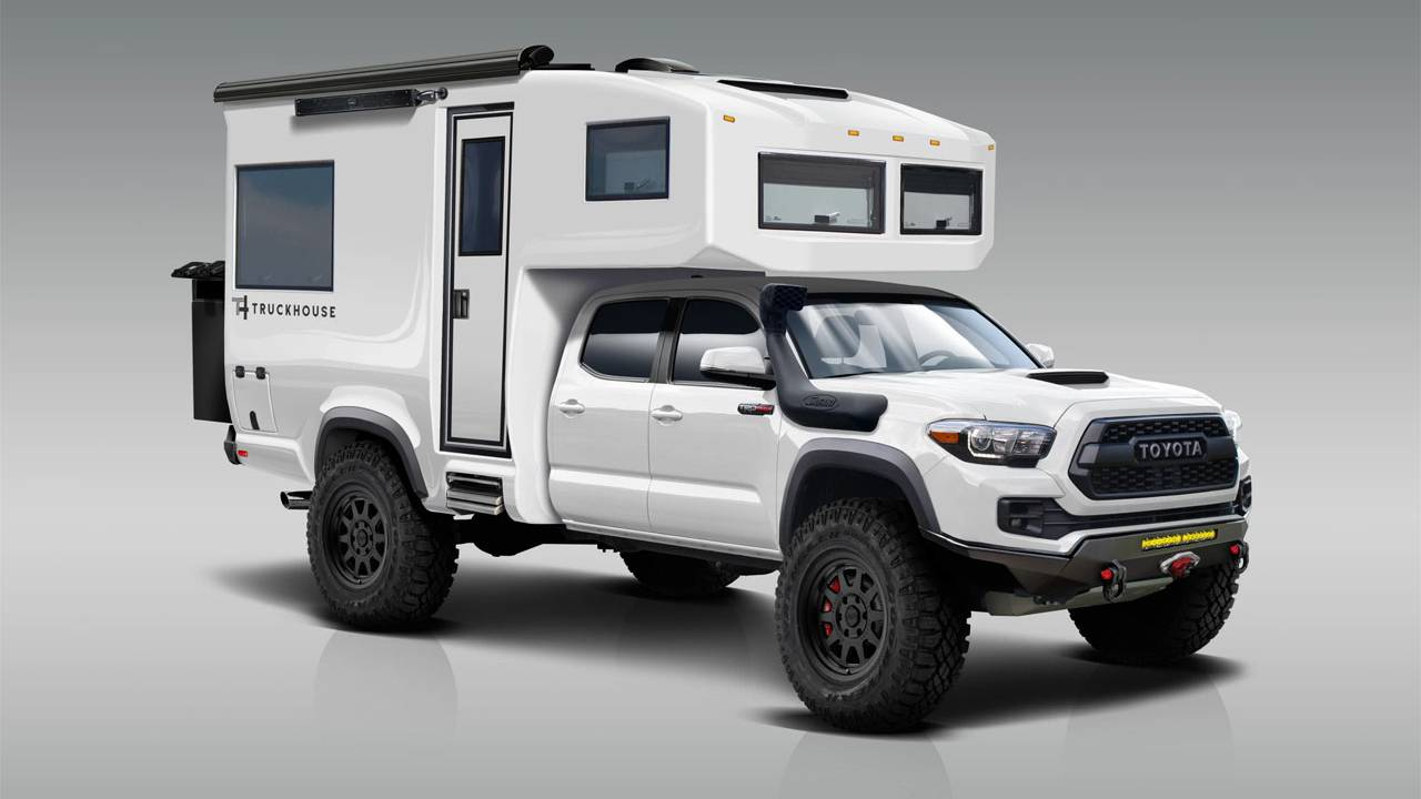 TruckHouse turns the Toyota Tacoma into a slick RV