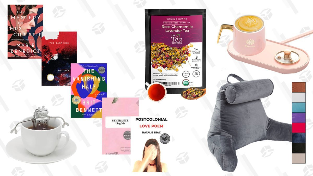 Commit To That Resolution To Read a Book Instead of Doomscrolling Before Bed With These Relaxing Deals