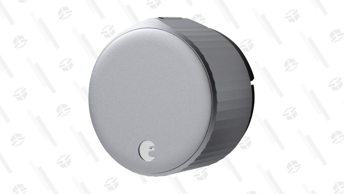 Add an August Smart Lock to Your Home for $183, the Lowest Price Yet