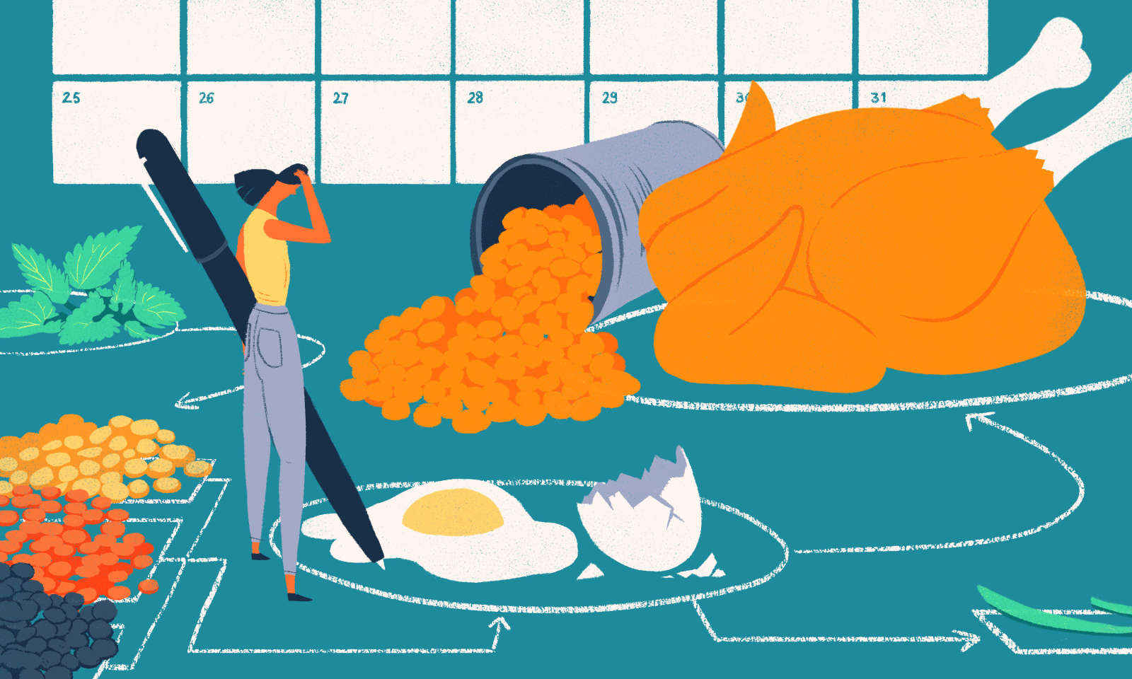 What to Do When Meal Planning Never Seems to Work for You