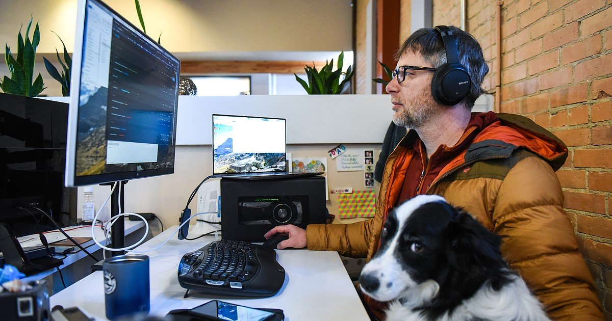 Professionals discover the Flathead as remote workplace