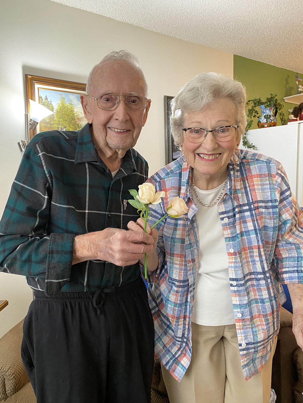 Couple celebrates 68th anniversary on Valentine's Day