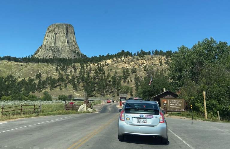 Wyoming's geological oddity, Devils Tower, draws visitors from around the world
