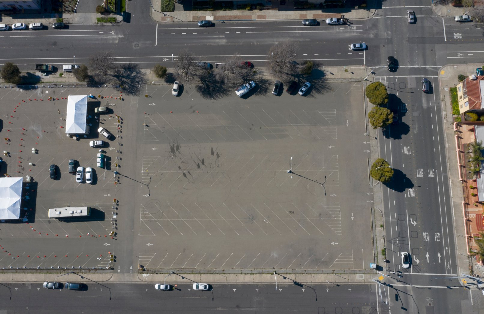 Richmond chooses Civic Plaza parking lot as vehicle parking site for homeless