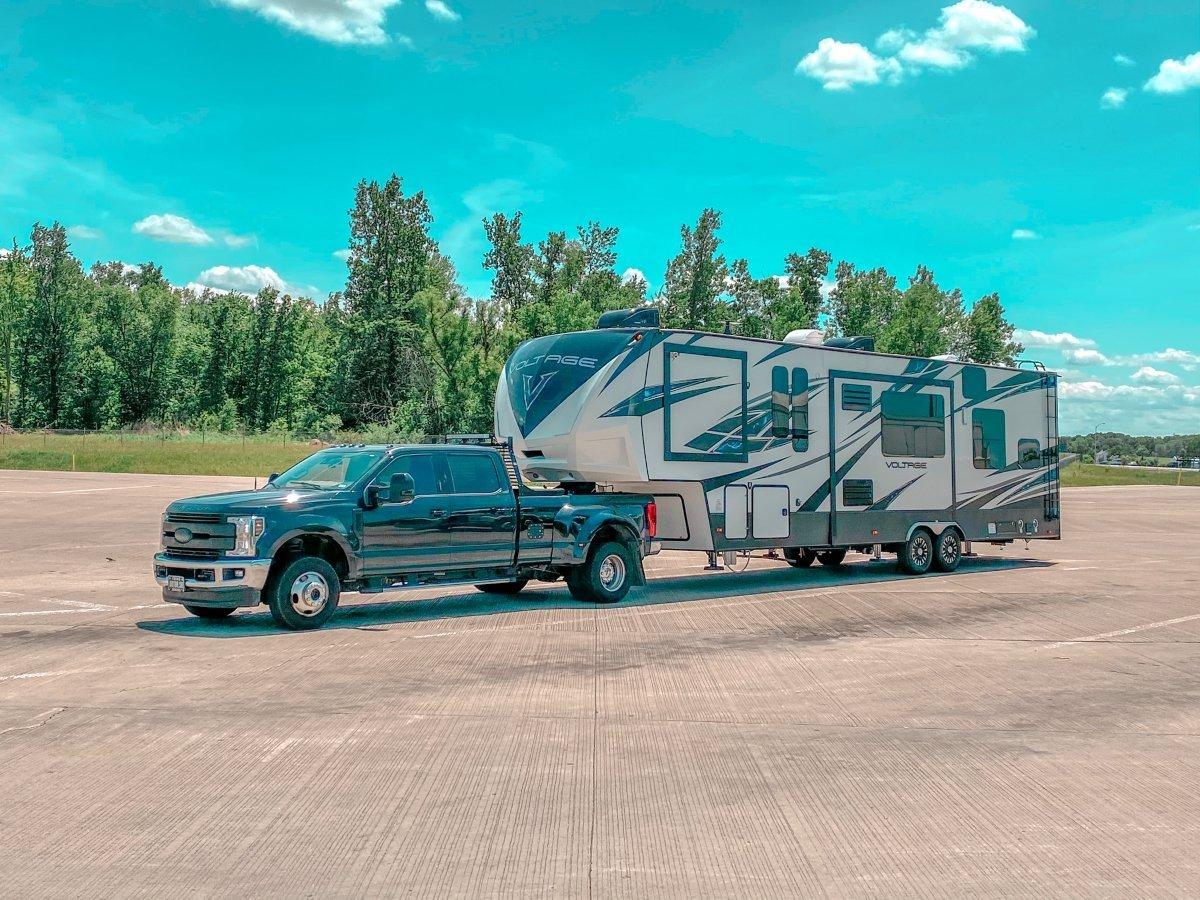 RV LIFE Stories: These Full-Time RVers Have An Office In Their Toy Hauler